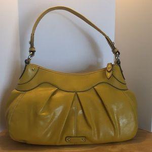 Nine West Goldish-Yellow Shoulder Bag